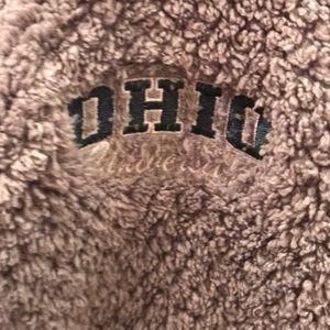 OHIO University Sherpa Fleece